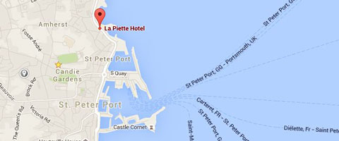 La Piette Hotel Guernsey is the ideal location for both business and