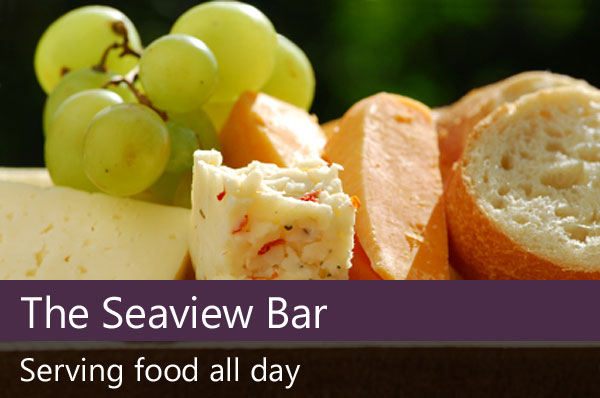 The Seaview bar all day food.
